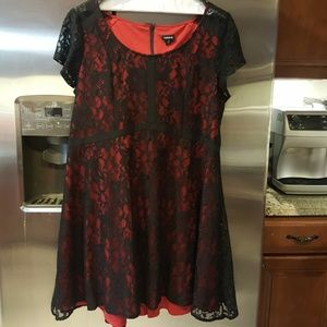 Torrid Plus Size Lace Dress size 18